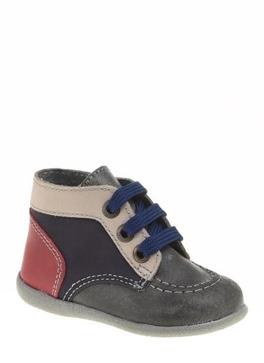 Kifidis Hakiki Deri İlk Adım Ayakkabı Gri